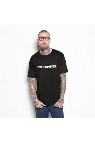 Czarny t-shirt Joe Monster