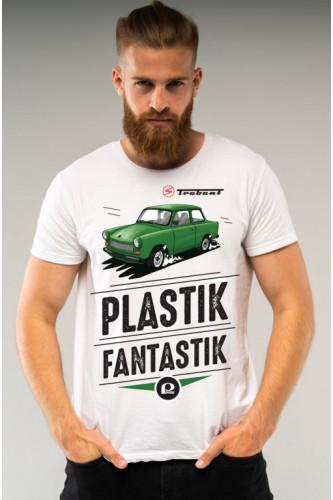 Koszulka męska Auta PRL - Trabant