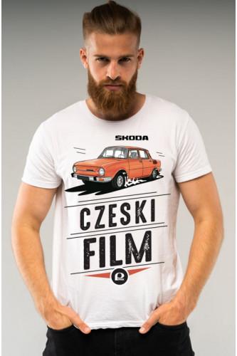 Koszulka męska Auta PRL - Skoda
