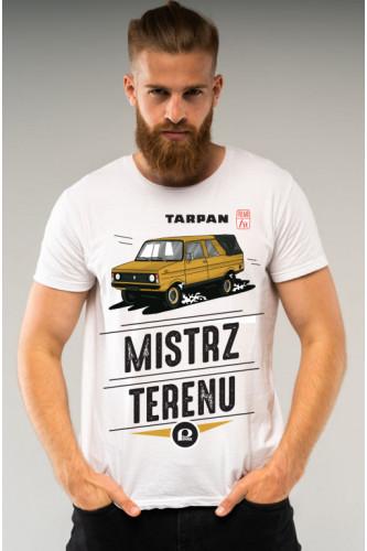 Koszulka męska Auta PRL - Tarpan