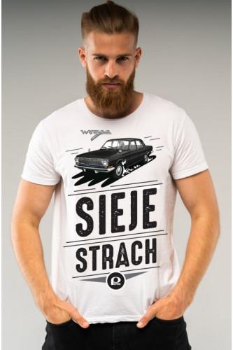 Koszulka męska Auta PRL - Wołga