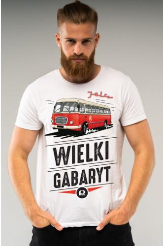Koszulka męska Auta PRL - Jelcz
