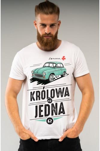 Koszulka męska Auta PRL - Syrena