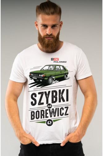 Koszulka męska Auta PRL - Polonez