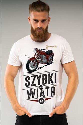 Koszulka męska Auta PRL - Junak