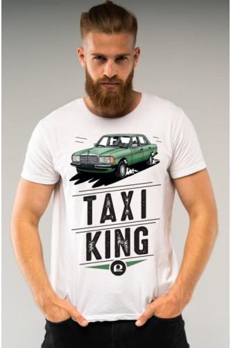 Koszulka męska Auta PRL - Mercedes