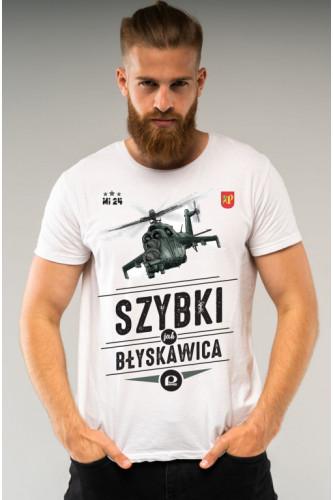 Koszulka męska Mi-24 - Szybki jak błyskawica
