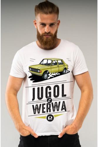 Koszulka męska Auta PRL - Zastawa