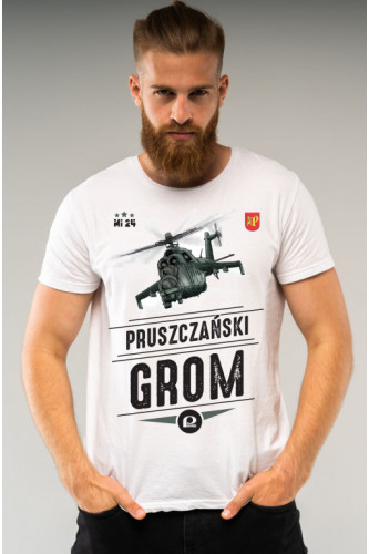 Koszulka męska Mi-24 - Pruszczański grom