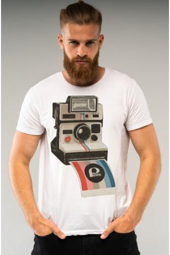 Koszulka męska Polaroid