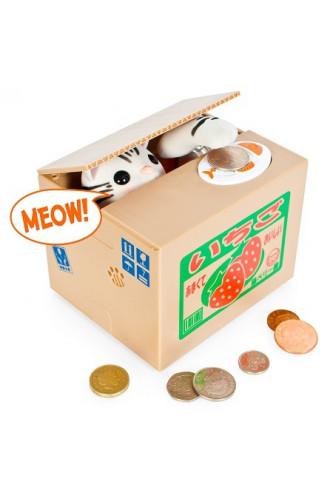 Skarbonka japońska Kitty Coin