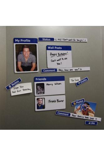 Magnesy na lodówkę Facebook