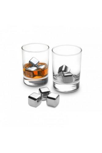Kostki do drinków - metalowe