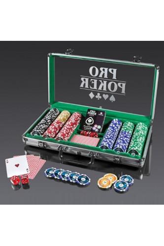 Pokerowe Żetony Piatnik z nominałami - komplet 300 sztuk