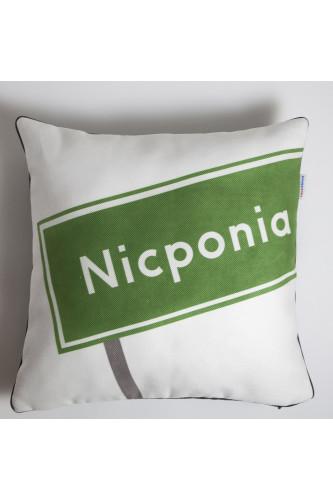 Poduszki Zabawne Miejscowości - Nicponia