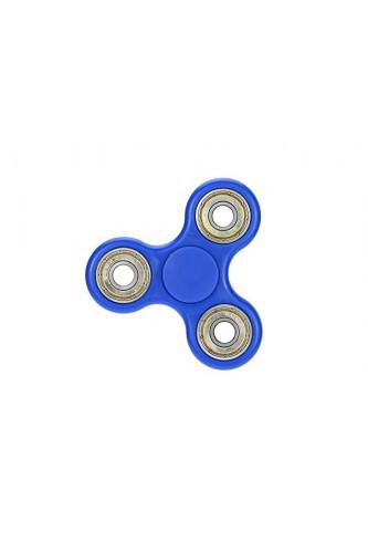 Fidget Spinner z dodatkowymi łożyskami - kręci się 3 minuty! - niebieski