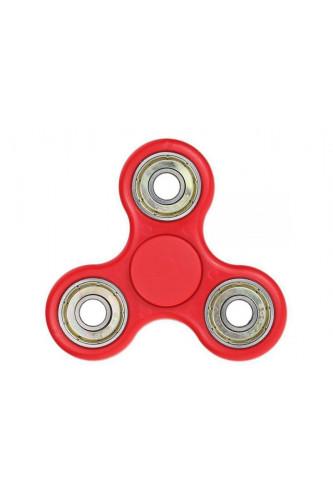 Fidget Spinner z dodatkowymi łożyskami - kręci się 3 minuty! - czerwony