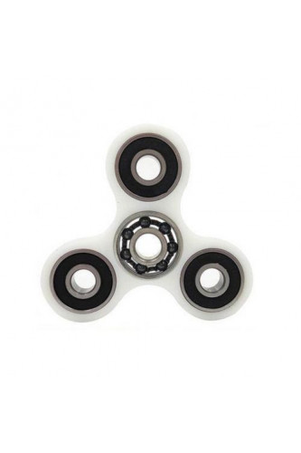 Fidget Spinner ceramiczne łożysko plus łożyska w ramionach - biały