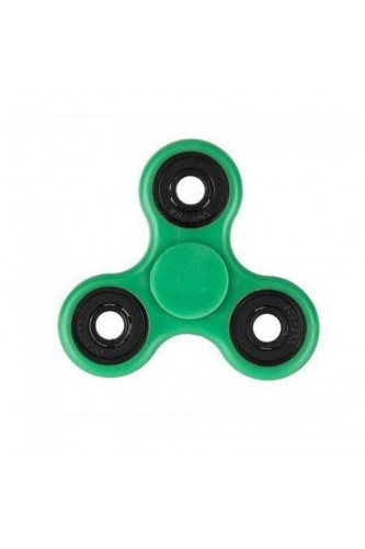 Fidget Spinner - świecący w ciemności  - zielony