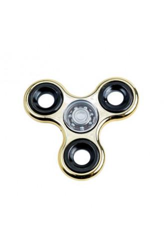Fidget Spinner - chromowany  - złoty