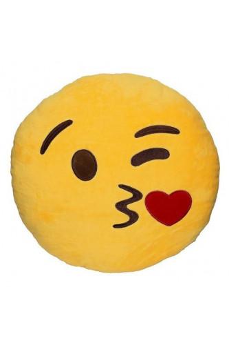 Poduszki Emoji - Całus