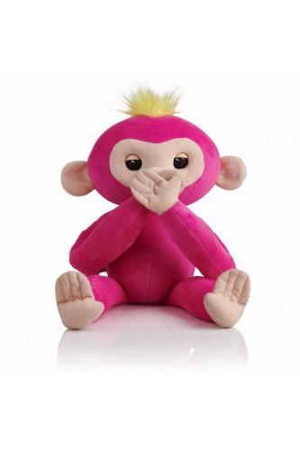 Interaktywna Małpka do Przytulania - Różowa