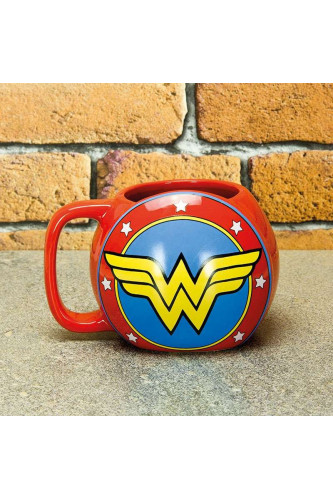 Kubek Tarcza Wonder Woman