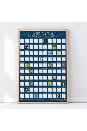 Plakat Zdrapka - 100 gier do zagrania