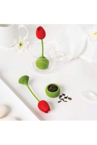 Zaparzacz do herbaty tulipan