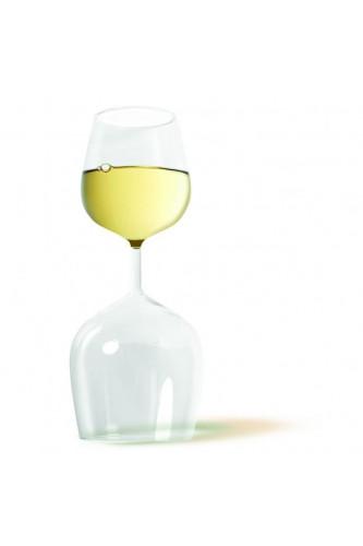 Podwójny kieliszek do wina