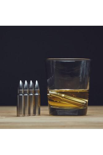 Metalowe Kostki Do Drinków - Pociski