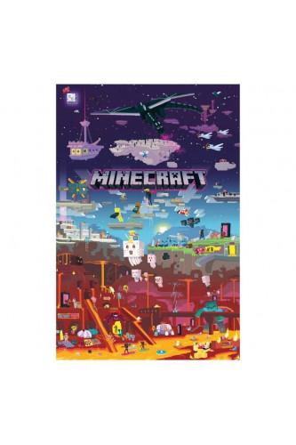 Plakat Minecraft World Beyond