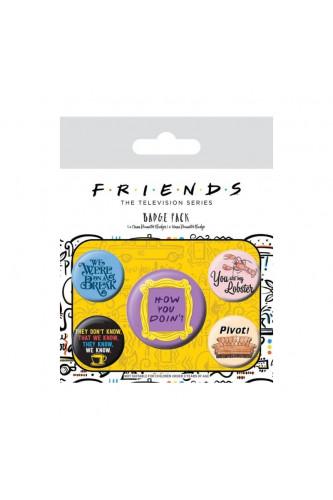 Zestaw przypinek Friends – serial Przyjaciele