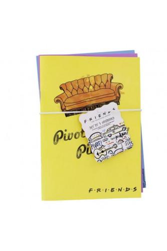 Zestaw 3 zeszytów Friends