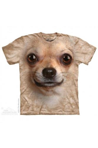 Koszulka 3D The Mountain Chihuahua Face