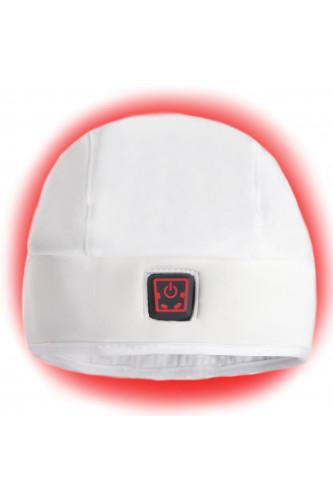 Ogrzewana Czapka Glovii, Kolor: Biały