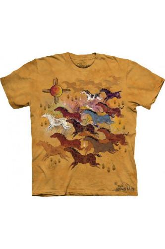 Koszulka 3D The Mountain Horses & Sun