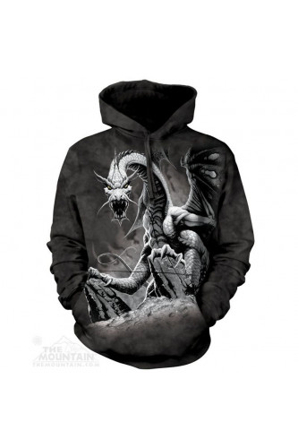 Bluza 3D The Mountain Black Dragon