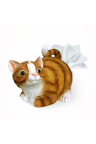 Pojemnik na chusteczki Kot