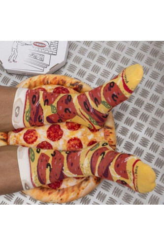 Skarpety Pizza Pepperoni 41-46