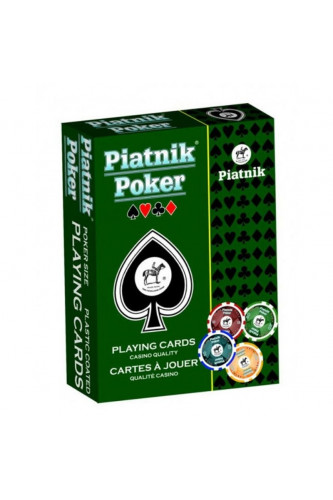 Karty Piatnik - Poker Powlekane (1 talia)