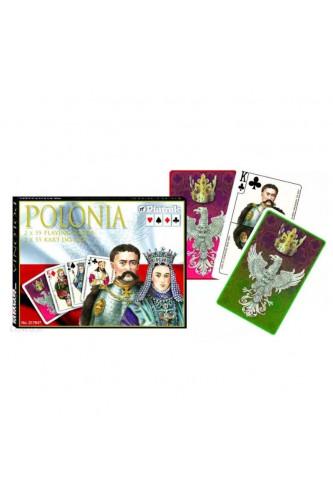 Karty Piatnik - Polonia (2 talie)