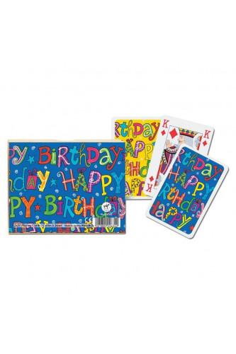 Karty Piatnik Happy Birthday - (2 talie)