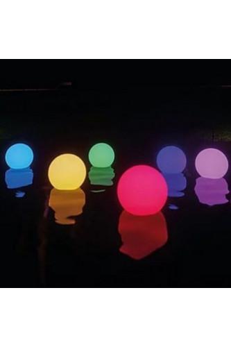 Wodoodporne kule świecące LED 3 szt.