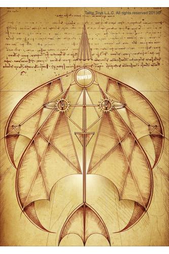 Samolot papierowy sterowany smartfonem - Leonardo da Vinci