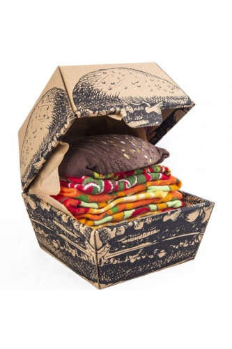 Skarpetki Burger Vege, Rozmiar skarpetek: 41-46