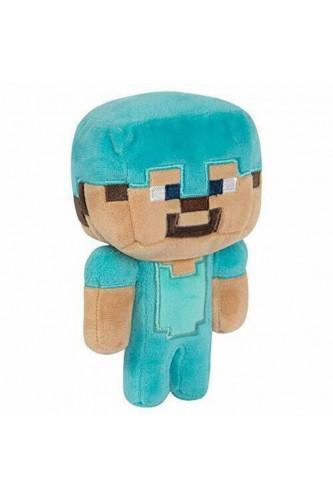 Maskotka Minecraft Diamentowy Steve