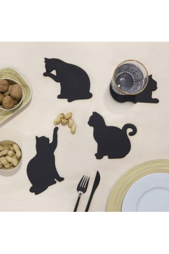 Silikonowe podstawki Koty