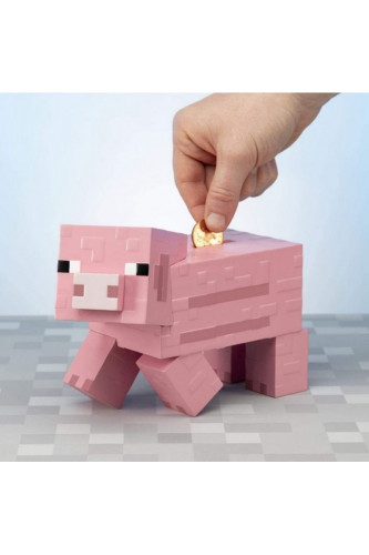 Świnka Skarbonka Minecraft