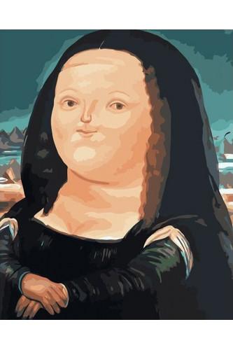 Gruba Mona Lisa - zestaw do malowania